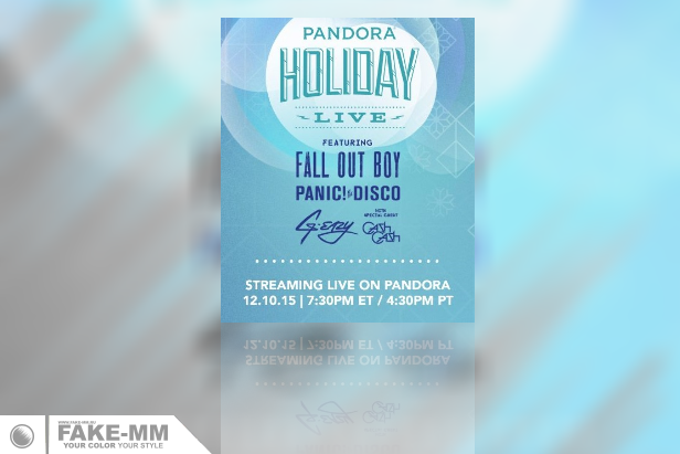 Pandora объединила Fall Out Boy и Panic! At The Disco