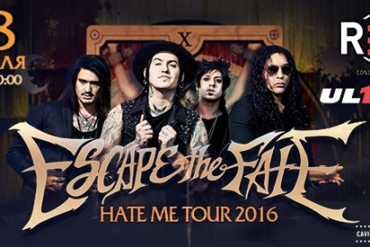 18 февраля - ESCAPE THE FATE в Москве, клуб RED